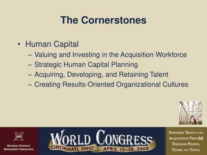 The Cornerstones