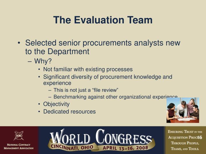 The Evaluation Team