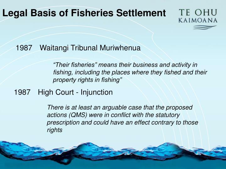 Waitangi Tribunal Muriwhenua