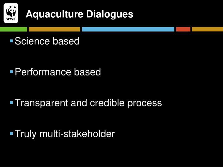 Aquaculture Dialogues
