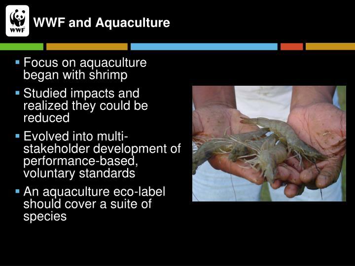 WWF and Aquaculture