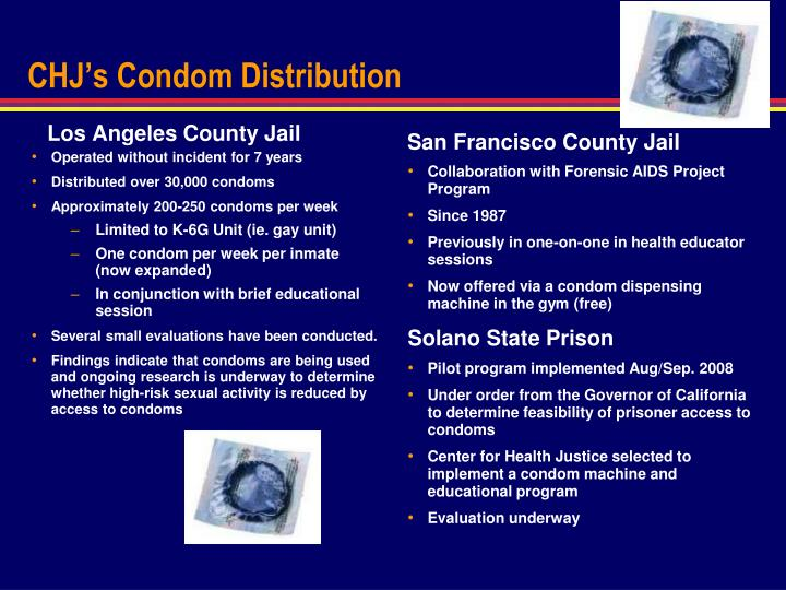 CHJ's Condom Distribution