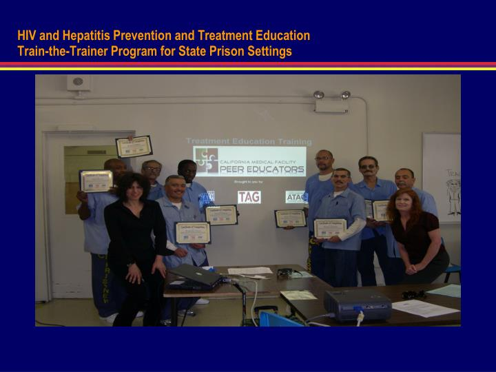 HIV and Hepatitis Prevention and Treatment Education