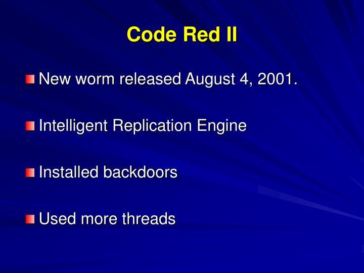 Code Red II