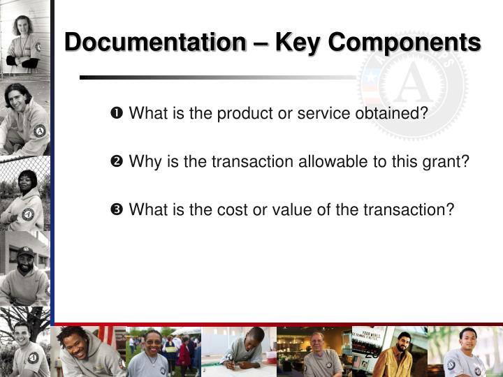 Documentation – Key Components