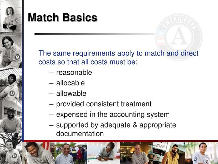 Match Basics