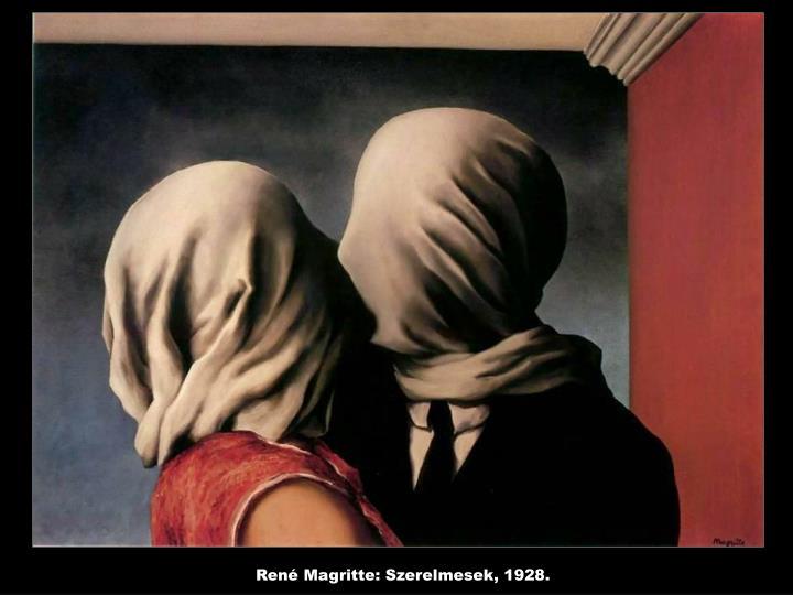 René Magritte: Szerelmesek, 1928.