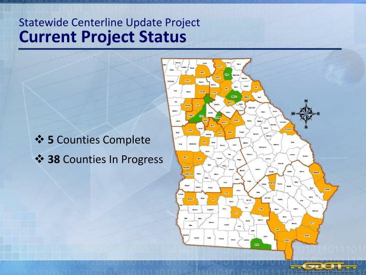 Statewide Centerline Update Project
