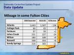 statewide centerline update project data update