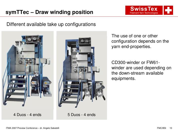 symTTec – Draw winding position