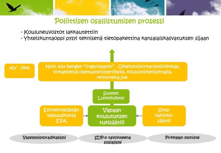 Poliittisen osallistumisen prosessi