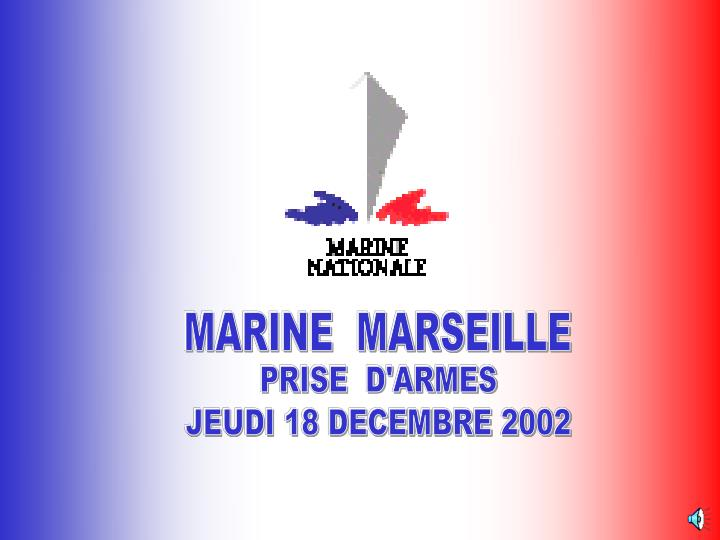 MARINE  MARSEILLE