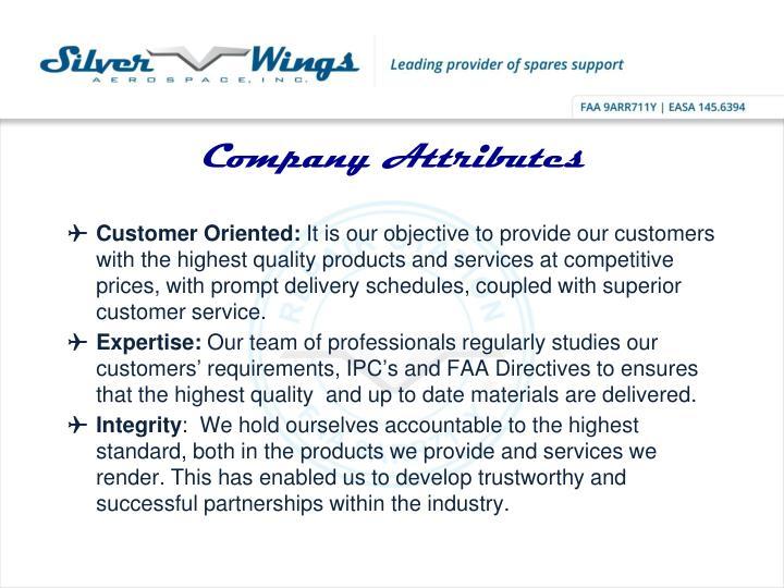 Company Attributes