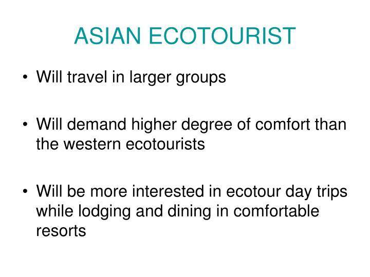 ASIAN ECOTOURIST