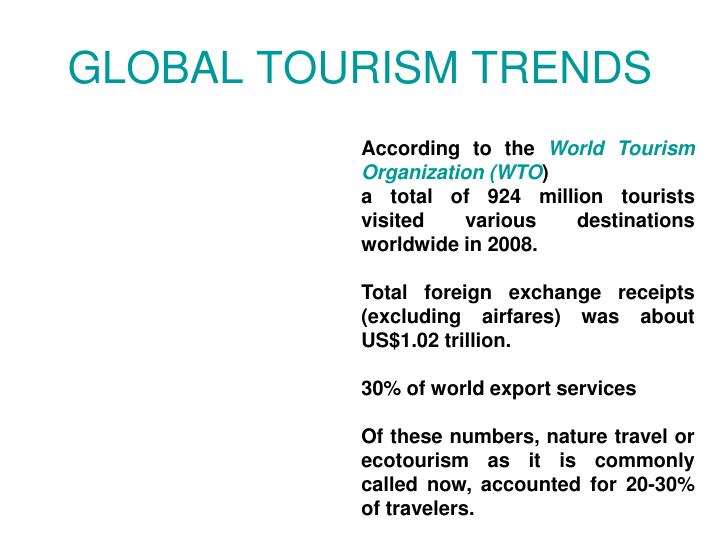 GLOBAL TOURISM TRENDS