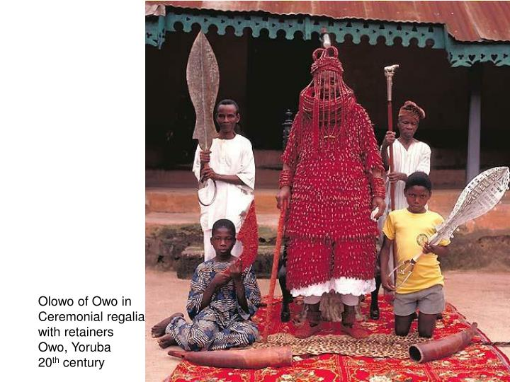Olowo of Owo in