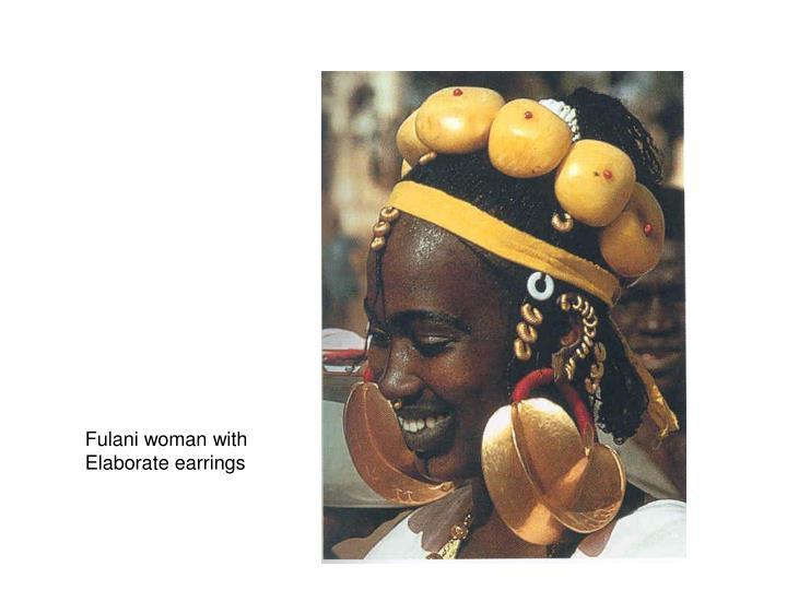 Fulani woman with