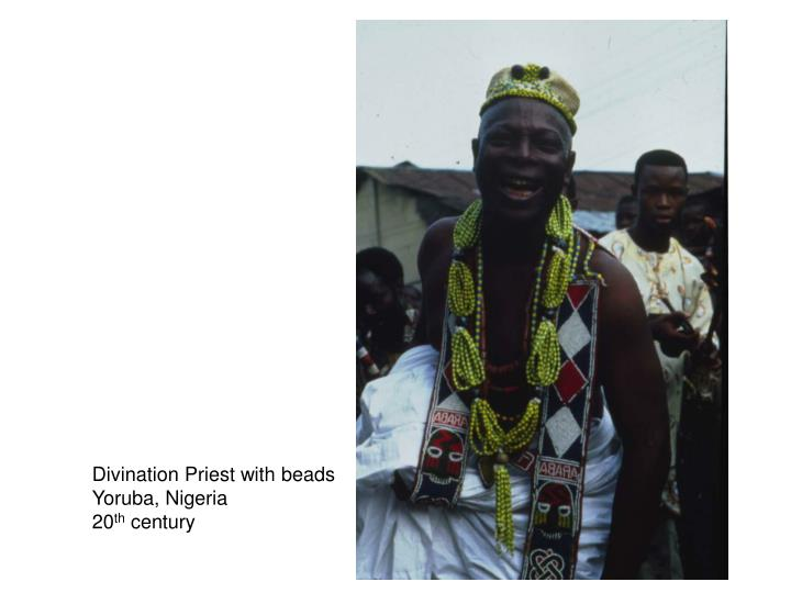 Divination Priest with beads