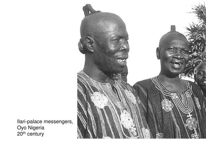 Ilari-palace messengers,