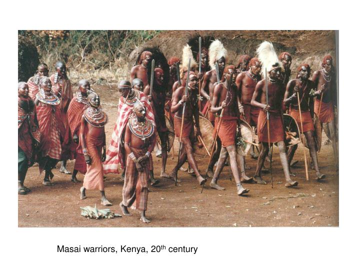 Masai warriors, Kenya, 20