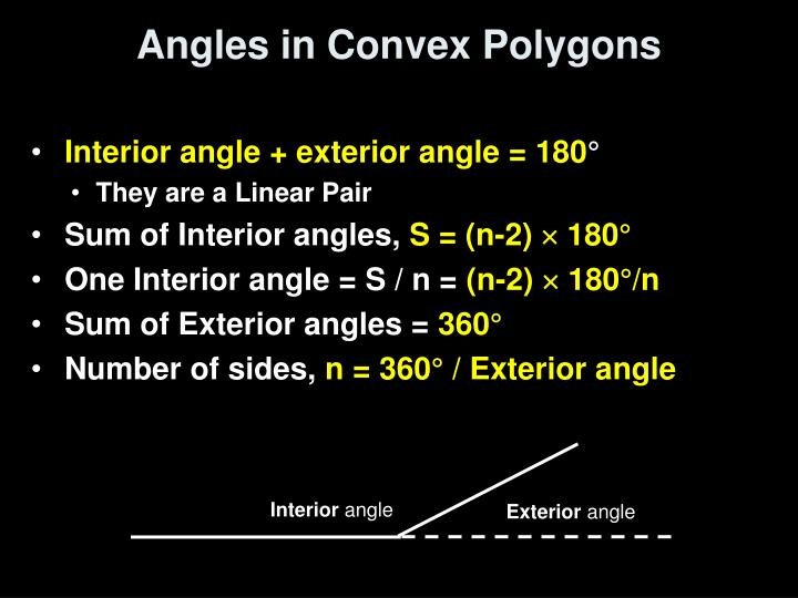 Angles in Convex Polygons