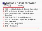 rocsat 1 flight software cont