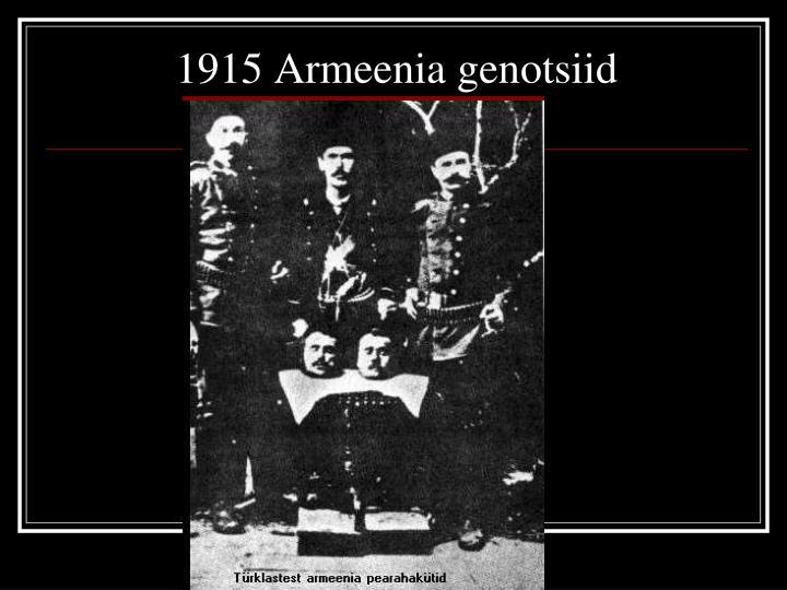 1915 Armeenia genotsiid