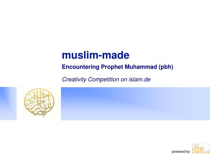 muslim made