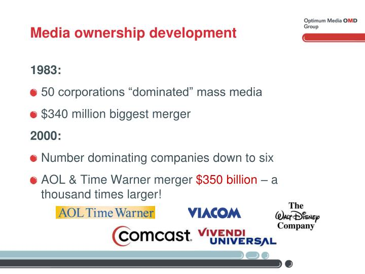 Media ownership development