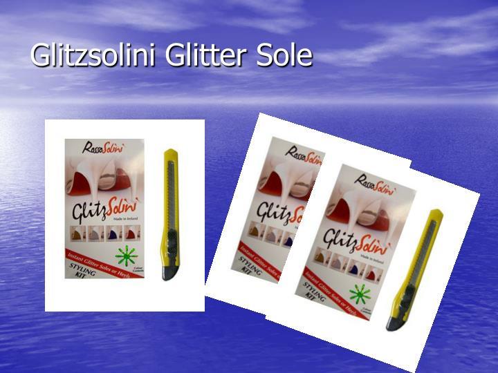 Glitzsolini Glitter Sole