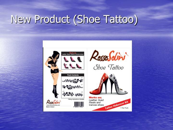 New Product (Shoe Tattoo)