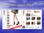 rosso solini 3 pack pp