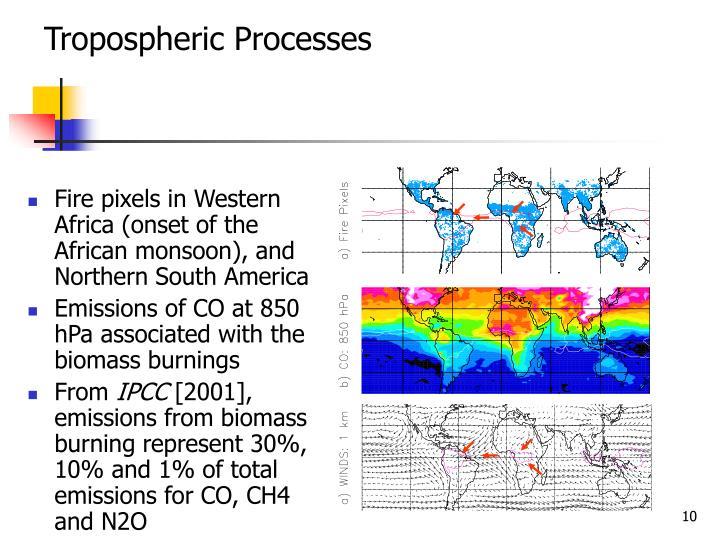 Tropospheric Processes
