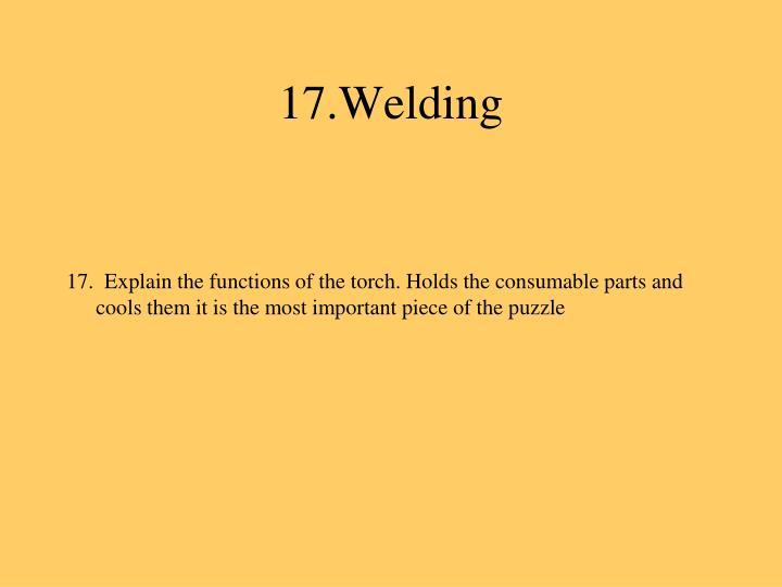 17.Welding