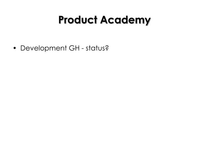Product Academy