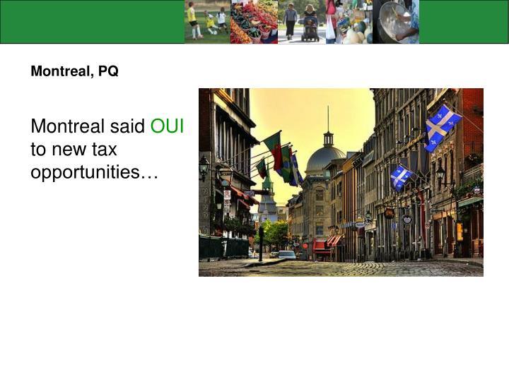 Montreal, PQ