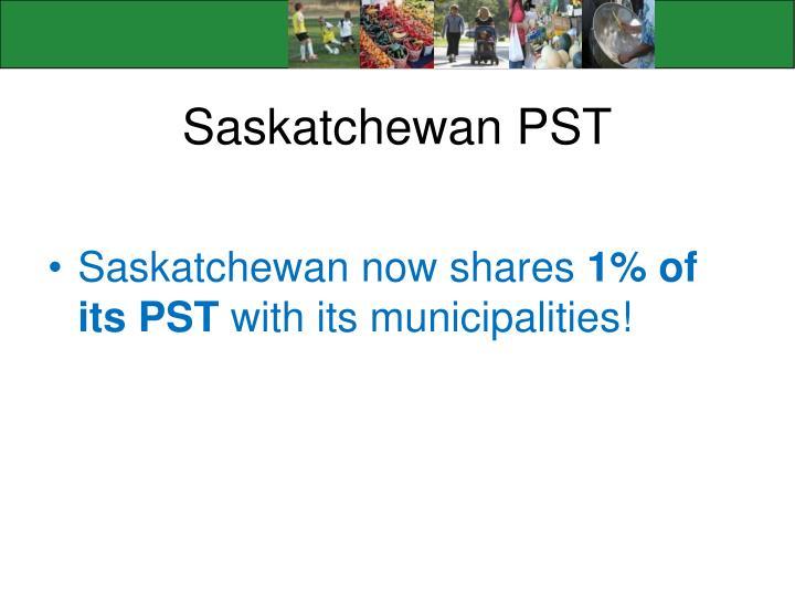 Saskatchewan PST