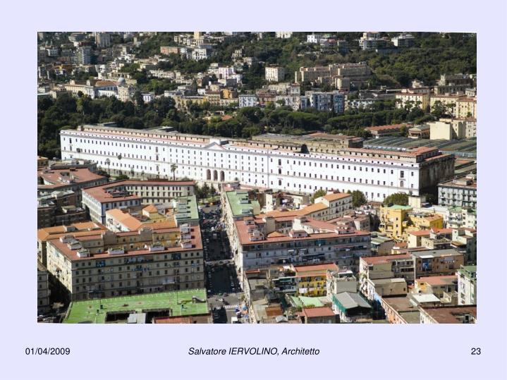 Salvatore IERVOLINO, Architetto