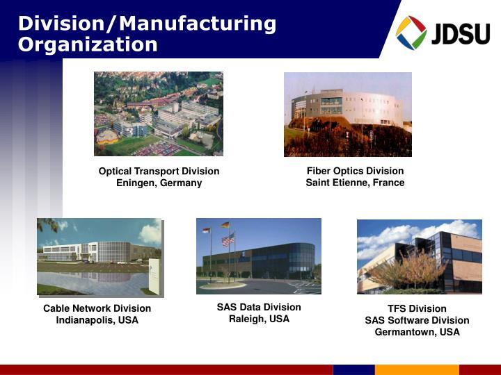 Division/Manufacturing Organization