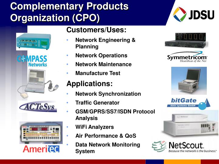 Complementary Products Organization (CPO)