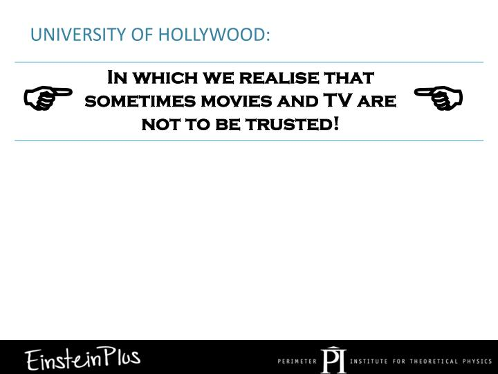 University of Hollywood: