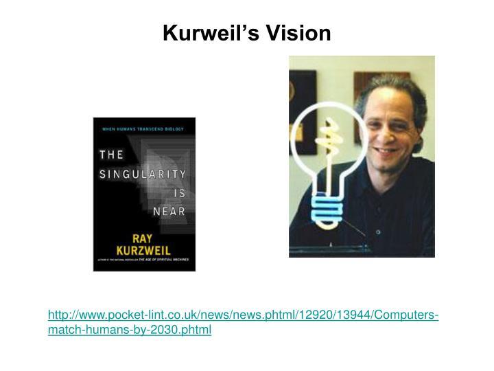 Kurweil's Vision