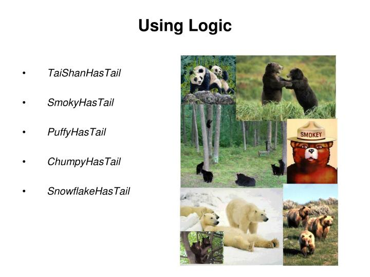 Using Logic
