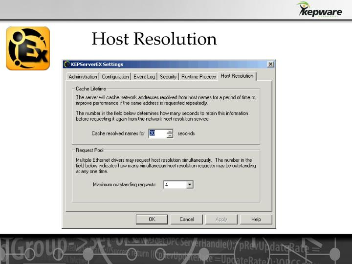 Host Resolution