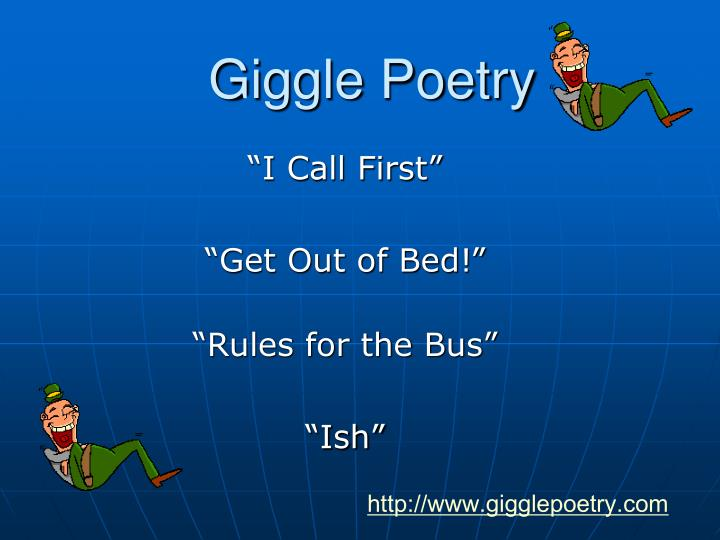 Giggle Poetry