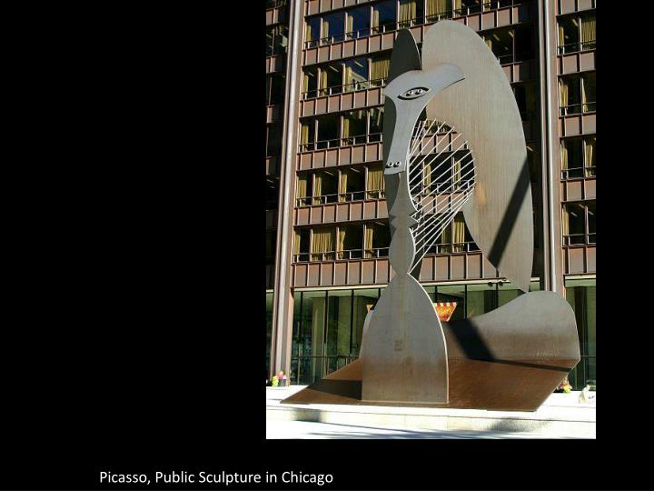 Picasso, Public Sculpture in Chicago