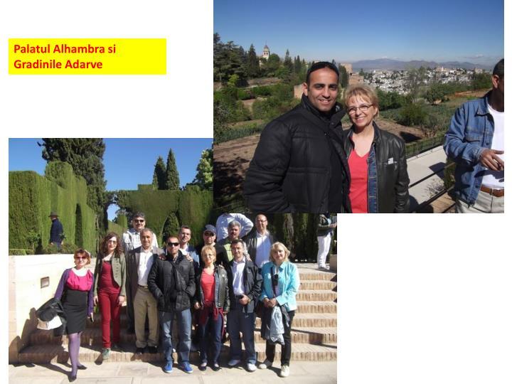 Palatul Alhambra si