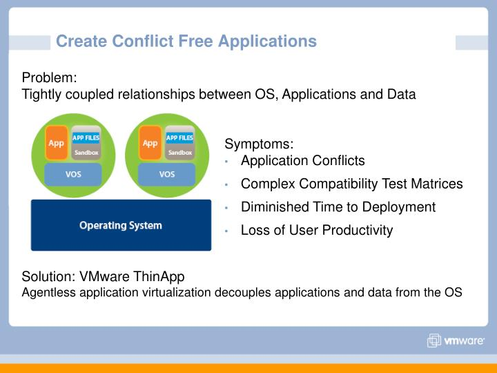 Create Conflict Free Applications