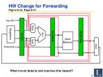 hw change for forwarding figure a 23 page a 37