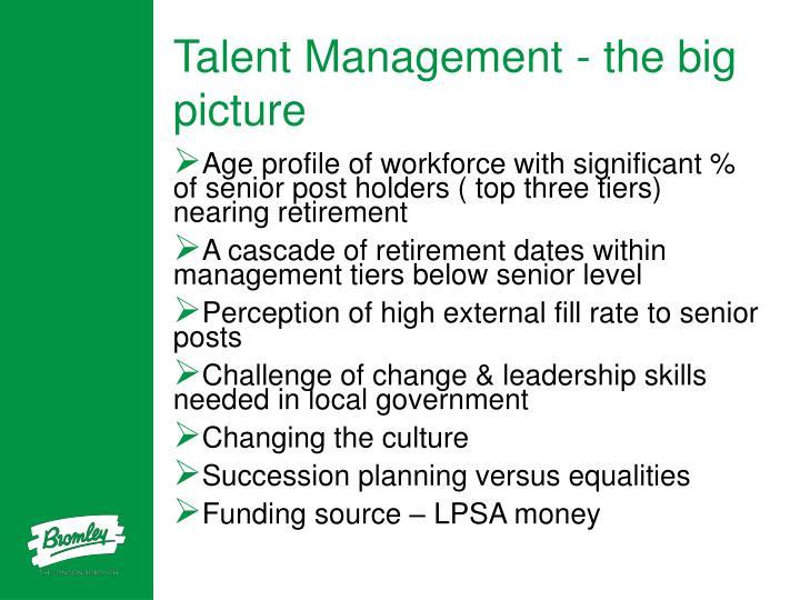 Talent Management - the big picture